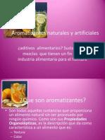 Aromatizantes Naturales y Artificiales