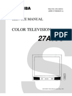 Service Manual Toshiba TV 27A35C