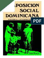 Composición Social Dominicana