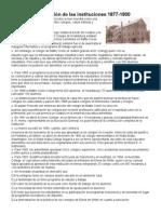 La Expansión de Las Instituciones 1877