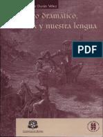 Del Género Dramático, La Historia y Nuestra Lengua