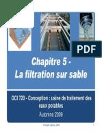 Chapitre 5 -Filtration