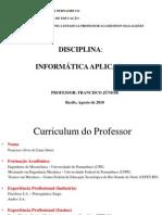 Aula 1 - Apresentação Da Disciplina e Introdução à Informática