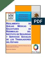 Reglamento Quejas Médicas Solicitudes de Reembolso ISSSTE