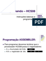 Aula 2 - Programando – HC08 -1