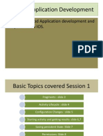 MobilMobile application development