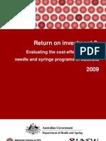 Return on Investment 2