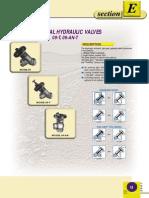 Galil - Rigid-seal Hydraulic Valves
