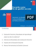 Evaluacion Docente Antofagasta