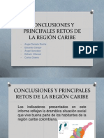 Conclusiones y Principales Retos de La Región Caribe