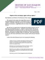 Judge Black Decision letter