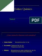 Teorico Quimica Aplicada 03 Enlace Quc3admico