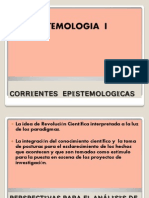 Corrientes Epistemologicas