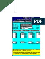 METACASH Cash Flow Analysis, Includes Quick Look Exploration-style Production Prediction and Cash Flow.