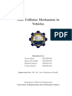 Anti Collision Mechanism in Vehicles