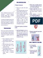 Triptico Manipulacion Manual de Cargas 3171