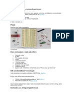 Criação de Um Arduino Em Uma Placa de Ensaio