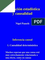 Asociación Estadística y Causalidad