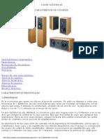 Cajas Acusticas Caracteristicas y Partes