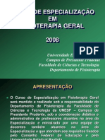 Fisioterapia Geral 2008