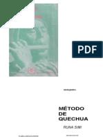 Marcelo Grondin - Metodo de Quechua