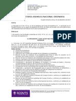 089-2013 Convocatoria ANO 2013