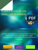 Clasificacion de Los DDHH