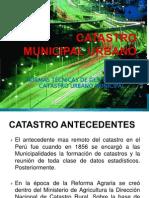 Catastro Municipal Urbano - Planeamiento - Final