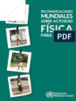 Recomendaciones Mundiales Sobre Act Fisica OMS[1]