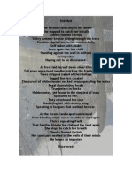 """EdD 7-Poetry """"On My Way Home"""""""