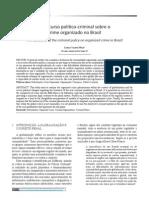 O discurso político-criminal sobre o crime organizado no Brasil