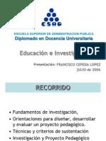 Educacion&Investigacion