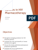 Updates in HIV Pharmacotherapy