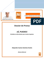 Dossier de Prensa Llifestyle- Libro SI PUEDES OKK