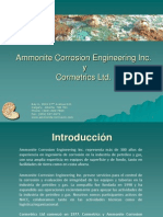 Ammonite Cormetrics Presentation_Spanish_October 2012