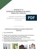 Sesion 13.Estrategia de Desarrollo de Marca, Pdtos. y Ss.