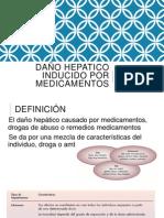 Daño Hepatico Inducido Por Medicamentos