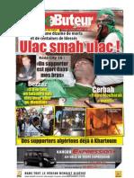 LE BUTEUR PDF du 16/11/2009