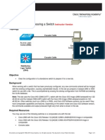 CCNPv6 SWITCH Lab1-1 Clearing Switches Instructor