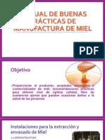 Manual de Buenas Prácticas de Manufactura de Miel