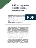 La URSS en La Guerra Del Pueblo Español