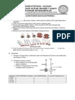 Soal Ujian Rangkaian Elektronika