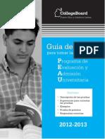 Guia de Estudio 2012-2013 Web CollegeBoard PuertoRico