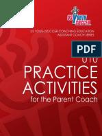 USYouthSoccer U10 Practice Activities