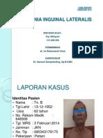 Hernia Inguinal Lateralis