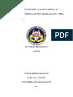M.yogi Dj Prassetya ( 1308059 ) UUT & K3