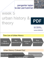 Kajian Kota Week 5.History