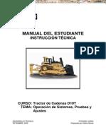 Manual Estudiante Instruccion Tractor Oruga d10t Caterpillar