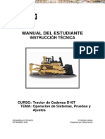 Manual Estudiante Instruccion Tractor Oruga d10t Caterpillar