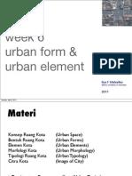 Kajian Kota Week 6.Urban Form Element